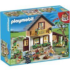 NEW HTF Playmobil 5120 FARM HOUSE & MARKET! Dollhouse, Critters, Veggie & more!