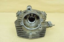 1973 HONDA CB125S CB125 CB 125S 125 S ENGINE CYLINDER ASSEMBLY HEAD W/ VALVES