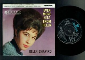 HELEN SHAPIRO EVEN MORE HITS FROM HELEN EP COLUMBIA 1962