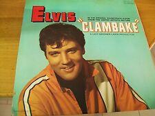 ELVIS PRESLEY CLAMBAKE O.S.T.  LP RCA USA CUT COVER