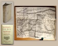 Spanheim Historia Iobi 1694 Religion Geschichte Hiob Job mit Kupferstichkarte xz