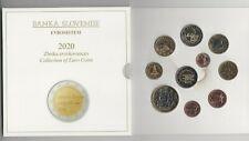 serie euro  SLOVENIA  2020   --  da 1 centesimo al 3 euro