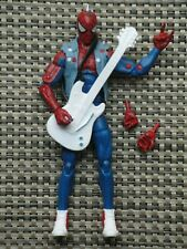 Marvel Legends Spider Punk action figure The Lizard BAF series Spider-Man