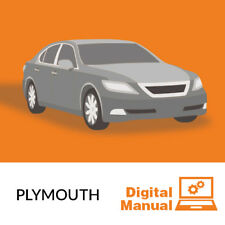 Plymouth - Service and Repair Manual 30 Day Online Access
