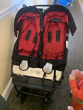 mountain buggy duet Blk &red
