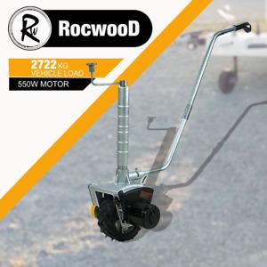Motorised Jockey Wheel Forward Reverse Trailer Mover 12V 550W For Boat Caravan