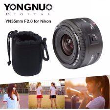 Yongnuo YN35mm F/2.0 Weitwinkel Festbrennweite Objektiv Lens für Nikon DSLR