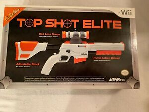 Cabela's (Nintendo Wii) With Top Shot Elite NEW in Box