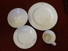 Sophie Conran Portmeirion Single Place Setting - White - 4 piece set - New