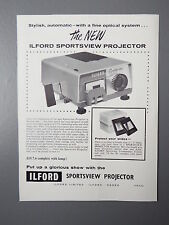 R&L Ex-Mag Vintage Advertisement: Ilford Sportsview Slide Projector