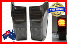 Smoked Black LED Tail lights for Isuzu D-Max Dmax UTE 2012-2016