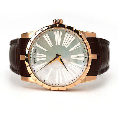 Roger Dubuis Excalibur 42 Wristwatch DBEX0348 Limited Rose Gold MOP