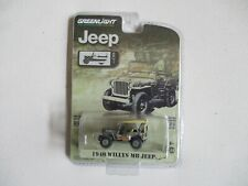 Greenlight Chase Jeep 80th Anniversary 1940 Willys MB (ng44)