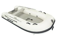 Quicksilver 300 Airdeck PVC White Inflatable Dinghy 3m Inflatable Boat - NEW