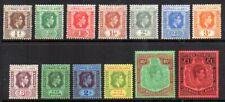 Leeward Islands: 1938 KGVI set (13) SG 95-114 mint
