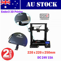 AU-Creality Ender3 3D Printer Resume Print OSHW Certified 220 x 220 x 250mm