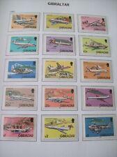 More details for gibraltar: 1982 definitive set of 15 nhm