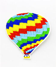 Hot air balloon Clothes pants hat Iron on Embroidered Badge Applique Patches U73