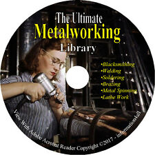 Metalwork, Blacksmithing, Lathe Work, Welding, Metal Spinning, Soldering on DVD
