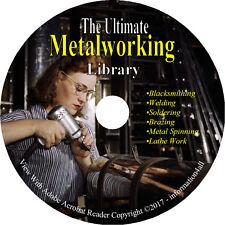 Metalwork, Blacksmithing, Lathe Work, Welding, Metal Spinning, Soldering on DVD