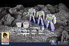 Kids Toy Pocket Size Small Scale MFT Robot Decepticons Megatron Action Figures
