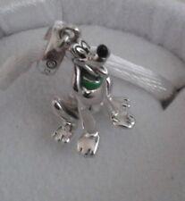 New, Genuine CHAMILIA DISNEY PLUTO Figure 925 Silver & Enamel Bead Charm