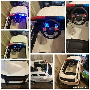 Ride On Police Car