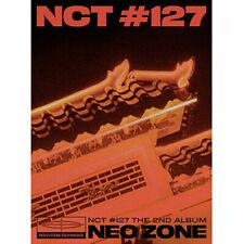 NCT 127 [NEO ZONE] 2nd Album T Ver. CD+Foto Buch+3 Karte+7 Sticker+Poster SEALED
