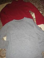 Lot of 3 Baby Gap Tops for Boys, 2 Turtlenecks & 1 Thermal Top