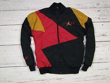Nike Air Jordan Rare Men Nylon Vintage Retro Old Jacket Jacke Tracksuit Size L