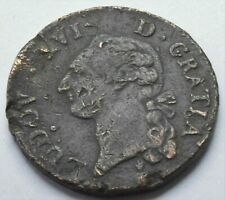 1791 FRANCE KING LOUIS XVI  SOL French Revolution COIN