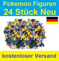24x Pokemon Figuren 2-3cm verschiedene Pokémon Figur Pikachu Cosplay Go Neu