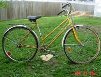 """Vintage Huffy Open Road Women's 3 Speed 26"""" USA Made Complete Used Needs Work"""