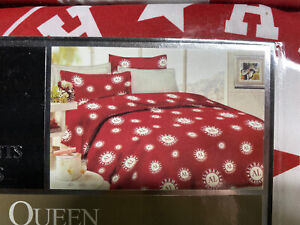 Alabama Crimson Tide  Bamboo Prints Queen Size Sheet Set 6 Piece ROLL TIDE! NEW