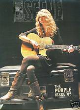 Taylor Swift cover Nashville Scene magazine MINT condition February 26, 2009