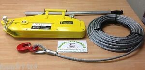 T-Max Off Road Recovery Tree Surgeons Expedition Hand Winch 1600Kgs  BA2620