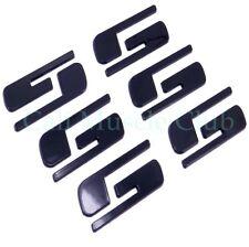 """""""SS"""" Emblem 2003-2006 Chevrolet Silverado SS Door Tailgate Black Custom 3 set"""