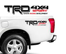 "TRD Toyota 4x4 Sport Truck Tacoma red Sport Vinyl Decals Emblem 18"" x 3"""