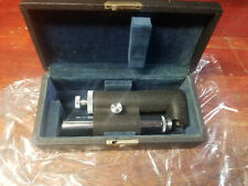 Antique Bausch & Lomb Pocket Microscope blue valvet Case MADE IN 1943