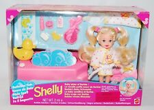 Bathtime Fun Shelly Doll Baby Sister of Barbie 1995 New Factory Sealed