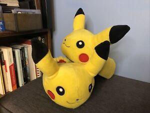 Pikachu Pokemon Plush Slippers Yellow Size Extra Small XS