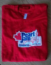 2016 PEARL JAM Shirt - LARGE 05/10/16 Toronto, ON Not Poster Binaural Show RARE!