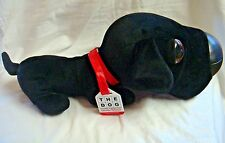 "BLACK LABRADOR / LAB Plush ""THE DOG"" by Artists Collection - HUGE HEAD w/ Tags"