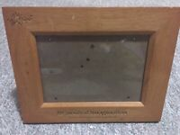OEM Wood Carnival Imagination Cruise Lines The Fun Ships Vacation Picture Frame