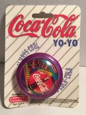 "Vintage Coca-Cola ""ALWAYS"" Yo Yo DUNCAN TOYS 1997 Brand New Retro Coke Purple"