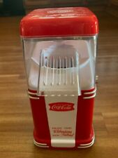 Nostalgia Electrics Coca Cola Series Hot Air Popcorn Popper Machine never used