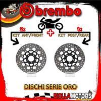 BRDISC-3379 KIT DISCHI FRENO BREMBO HARLEY FXDS DYNA SUPER GLIDE SPORT 2004- 145