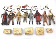 "8Pcs Indiana Jones Raiders of the Lost Ark 3.75"" Action Figure Movies Toy Gift"