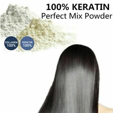100% KERATIN AND 100% COLLAGEN MIX POWDER NATURAL HAIR CARE VITAMINS TREATMENT