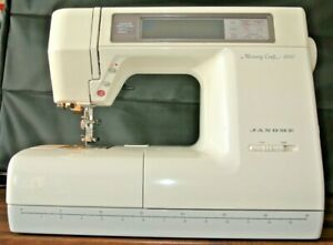 Vintage New Home Janome Memory Craft 8000 Sewing  Embroidery Machine